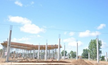 JUNIN: A 7 meses del inicio de las obras, la nueva terminal está lista en un 15%
