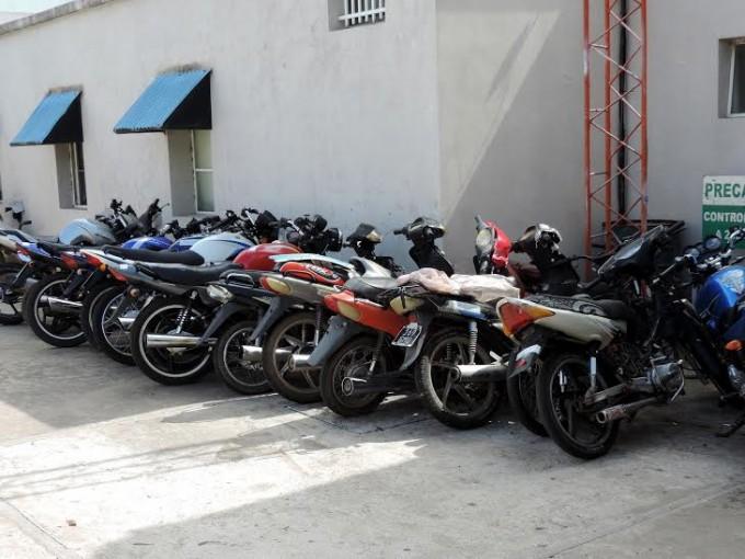 Se secuestraron varias motos en èste fin de semana