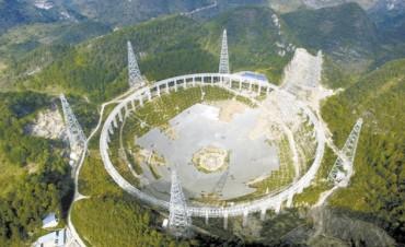 El mayor radiotelescopio del mundo obliga a mudarse a 9.000 chinos