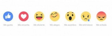 Facebook Reactions para demostrar que algo no te agrada