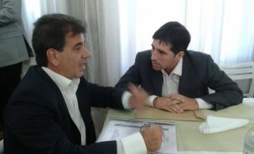 Franco Flexas estuvo junto al Ministro de Seguridad de la Provincia de Buenos Aires