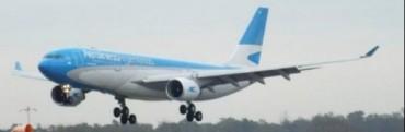 Aerolíneas Argentinas tuvo récord de pasajeros en enero