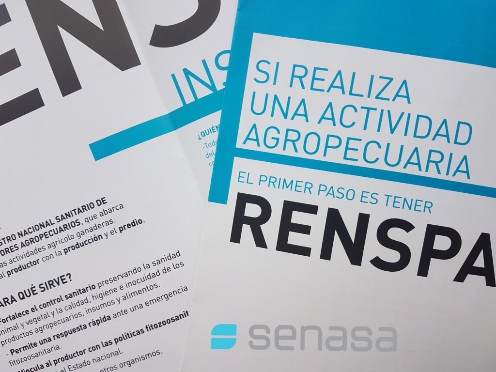 La inscripción en el Renspa se gestiona 100% por autogestión
