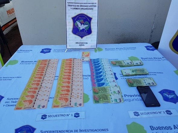 Detenido con dinero falso en la ciudad de Los Toldos