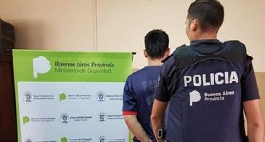 LOS TOLDOS: Un detenido  por portación ilegal de arma de fuego