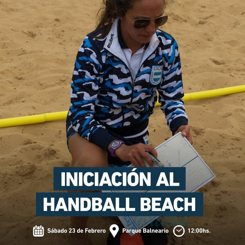 Clase abierta de Handball Beach