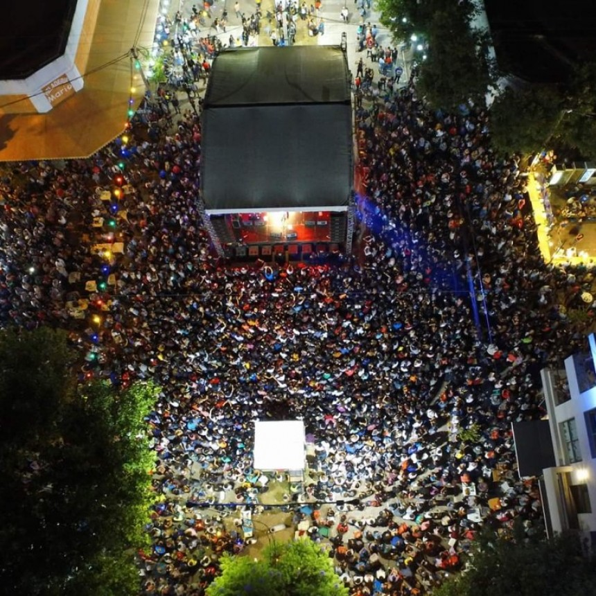 Luego de 5 noches mágicas finalizó el carnaval en la capital de la alegría
