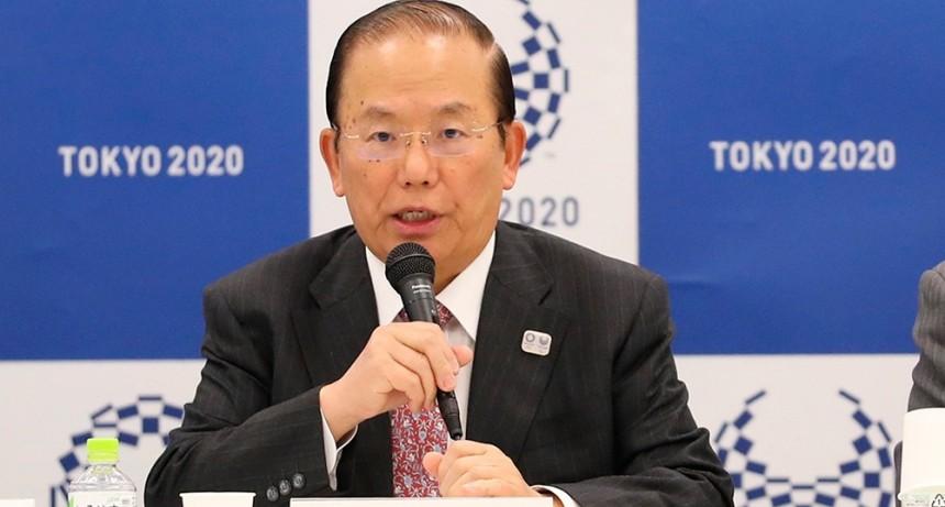 El responsable de Tokio 2020 se mostró