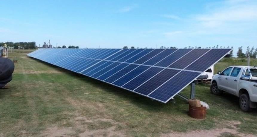 Ameghino se despide de la baja tensión y los cortes de luz con energía solar que promueve su Cooperativa Eléctrica