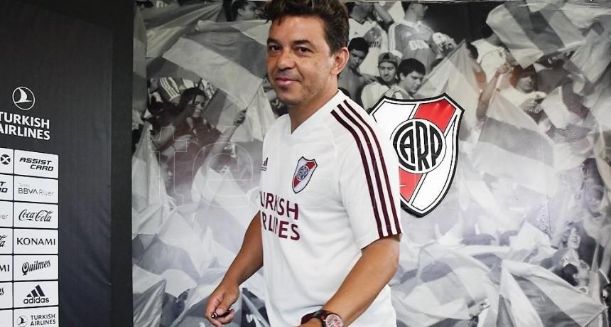 Gallardo recuperó a Díaz y sólo resta definir al reemplazante de Borré