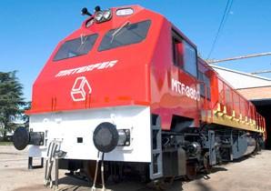 Presentaron la primera locomotora de 3300 hp fabricada en la Argentina