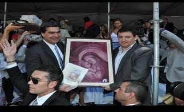 El cuadro que Cristina le dio al Papa se lo había regalado un intendente de Mendoza