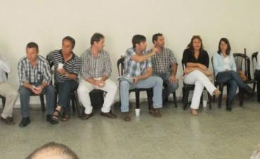 FORO DE CONCEJALES Y CONSEJEROS ESCOLARES:  Radicales de la IV Sección se reunieron en Bragado