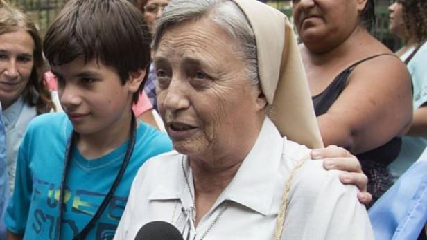 En el Vaticano, Martha Pelloni habló de