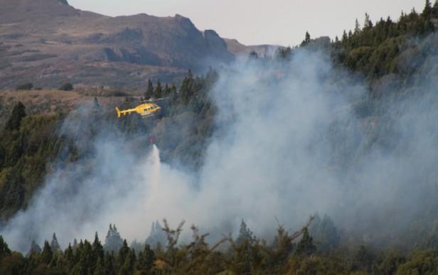 Incendios en el Parque Nacional Los Alerces