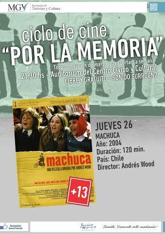 """CICLO DE CINE """"POR LA MEMORIA"""""""