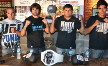 Presentación oficial del festival de Kick boxing