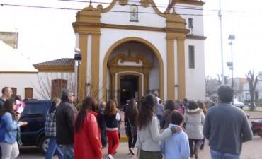 Horarios de las Misas, en nuestro templo