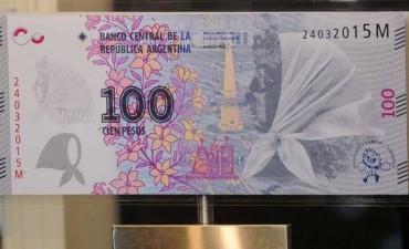 Mirá el nuevo billete de $100