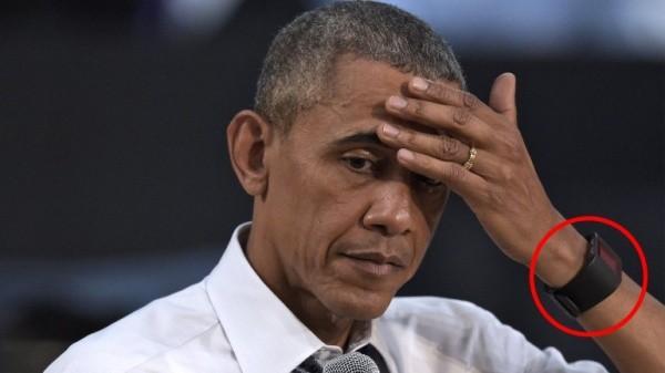 Cómo es el reloj inteligente que lució Barack Obama