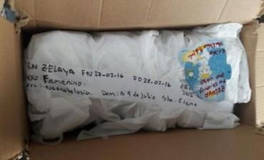 Horror: un hospital entregó una bebé muerta en una caja
