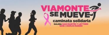 VIAMONTE SE MUEVE - caminata y carrera solidaria a realizarse este Domingo 13 desde las 16 Hs