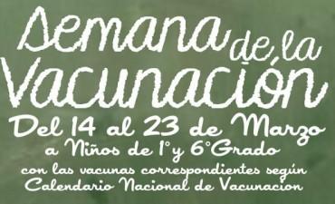 """La Secretaria de Salud de General Viamonte realizará la """"Semana de Vacunación"""""""