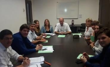 Javier Mignaquy,  lleva adelante la constitución de la Comisión de Producción y Comercio