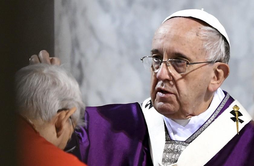 DE NUESTRA CORRESPONSALIA EN EL VATICANO: La voz del Papa Francisco en el miercoles de ceniza