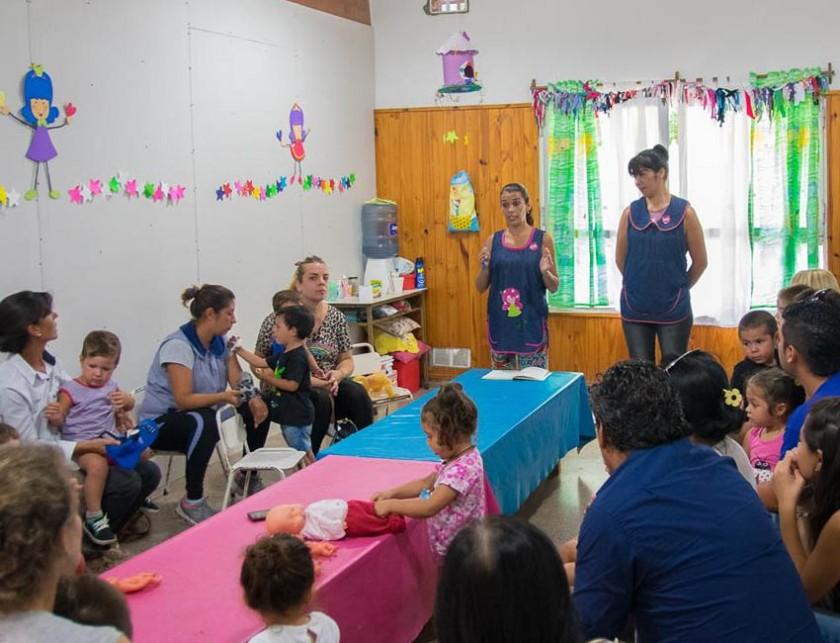 Esta semana el Jardín Maternal Municipal San Juan Bosco inició el ciclo lectivo 2017