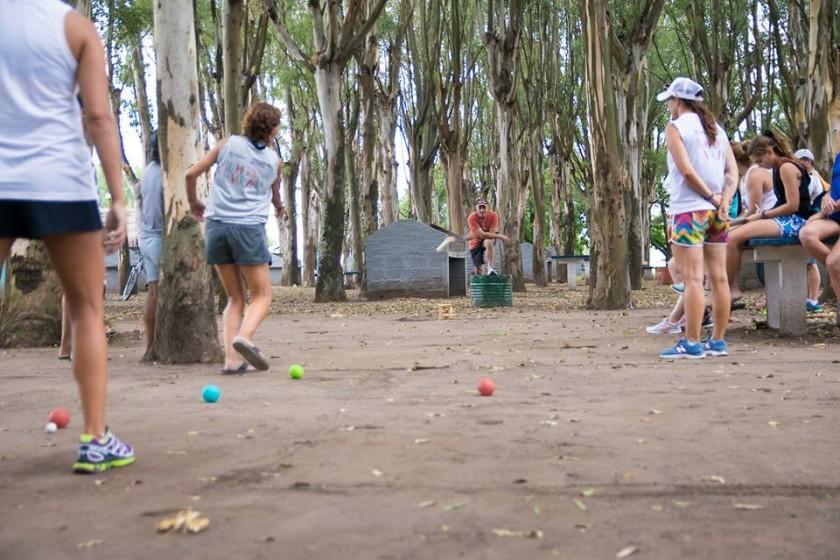 La directora de Deportes Teresa Luberriaga, hablò el cierre de temporada 2017 del Parque balneario.