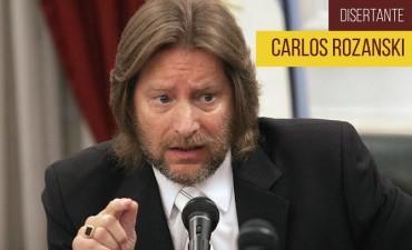 El ex Juez CARLOS ROZANSKI, disertarà en la Unnoba