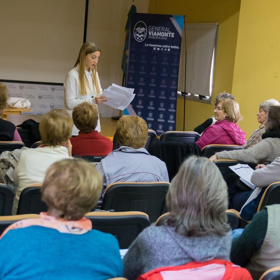 Más y nuevos cursos para adultos mayores, se dictaran en nuestra ciudad