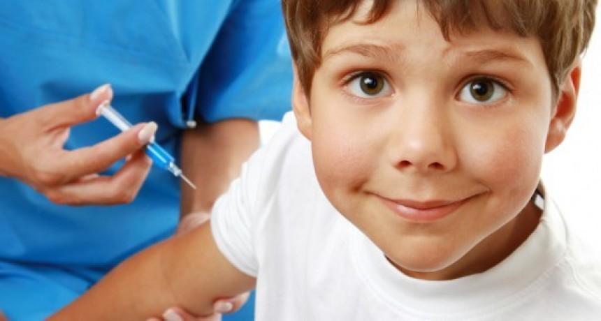 Semana de vacunación en las escuelas