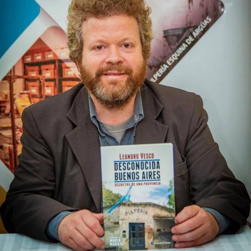 El escritor y periodista Leandro Vesco se presentara con su libro en el festival del queso
