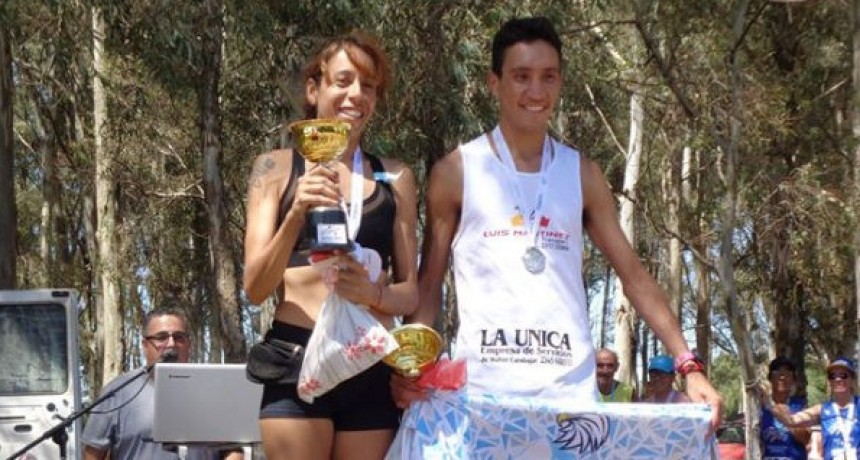 Lucila Andreoni y Elías Martínez los ganadores en Morea