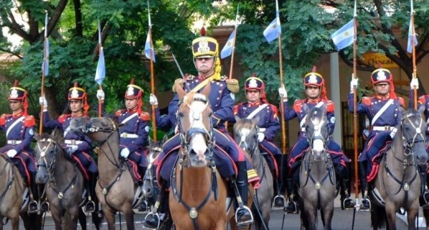 Hace 208 años se creó el Regimiento de Granaderos a Caballo