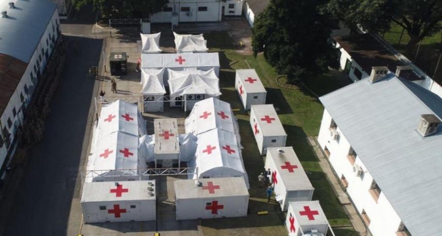 El Ejercito prepara un hospital y la Provincia acelera el abastecimiento para mejorar la atención
