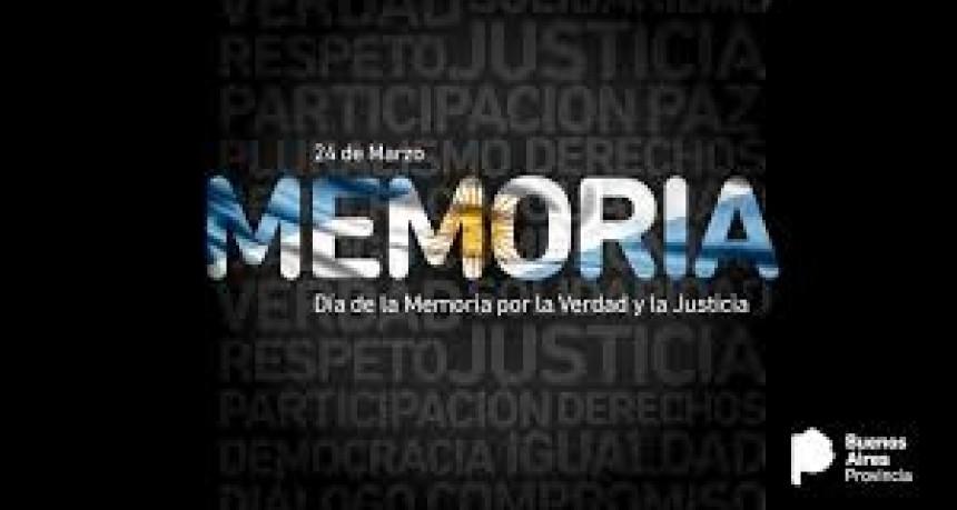 El Día de la Memoria se conmemoró en redes y con pañuelos en las ventanas