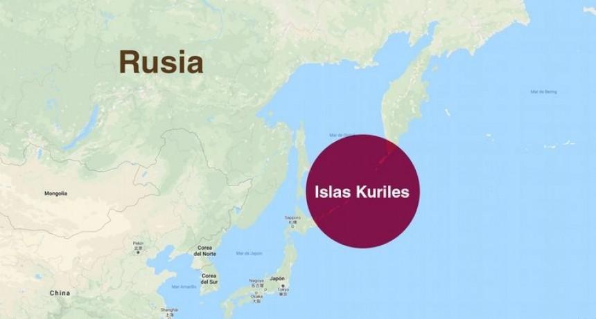Alerta de tsunami en Rusia por un potente terremoto de 7.5º