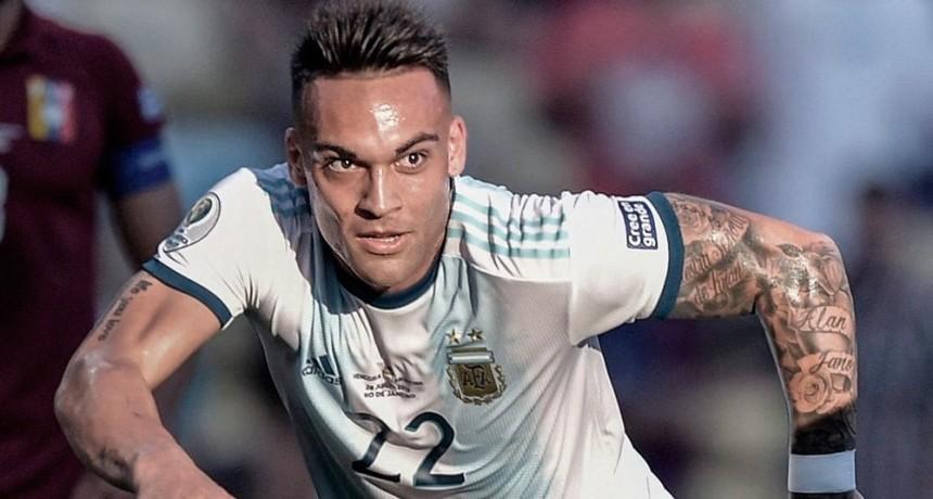 Lautaro Martínez superará el límite de edad en 2021 para representar a la Argentina en Tokio