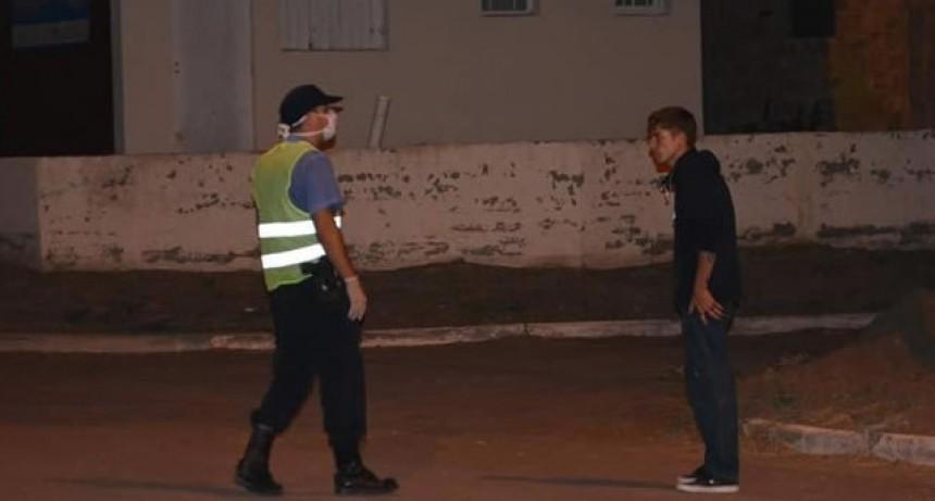 LUNES 30 20:30 HS  - Ya son 55 personas las detenidas en nuestro distrito