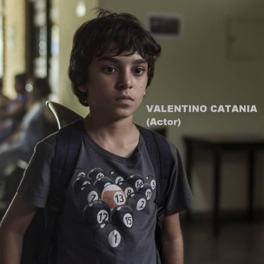 En ésta cuarentena hay alegrías: Valentino Catania está nominado como revelación masculina para el Premio Condor de Plata 2019