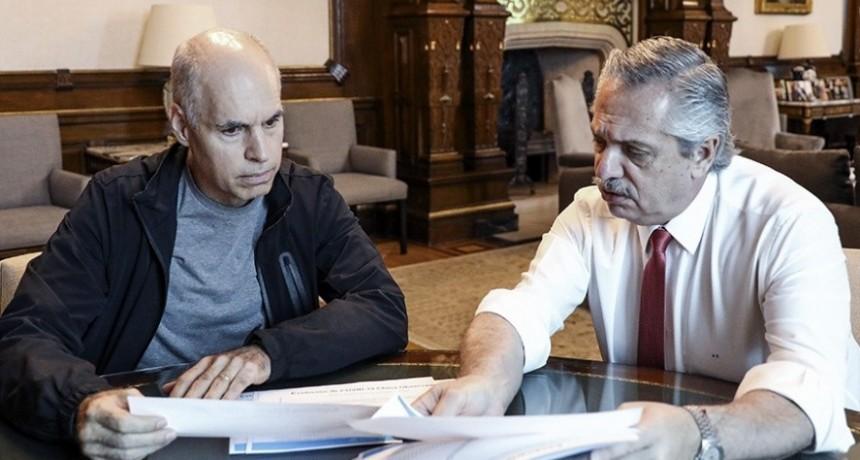 Tras reunirse con Larreta, Alberto Fernández repasará medidas con intendentes bonaerenses por videoconferencia