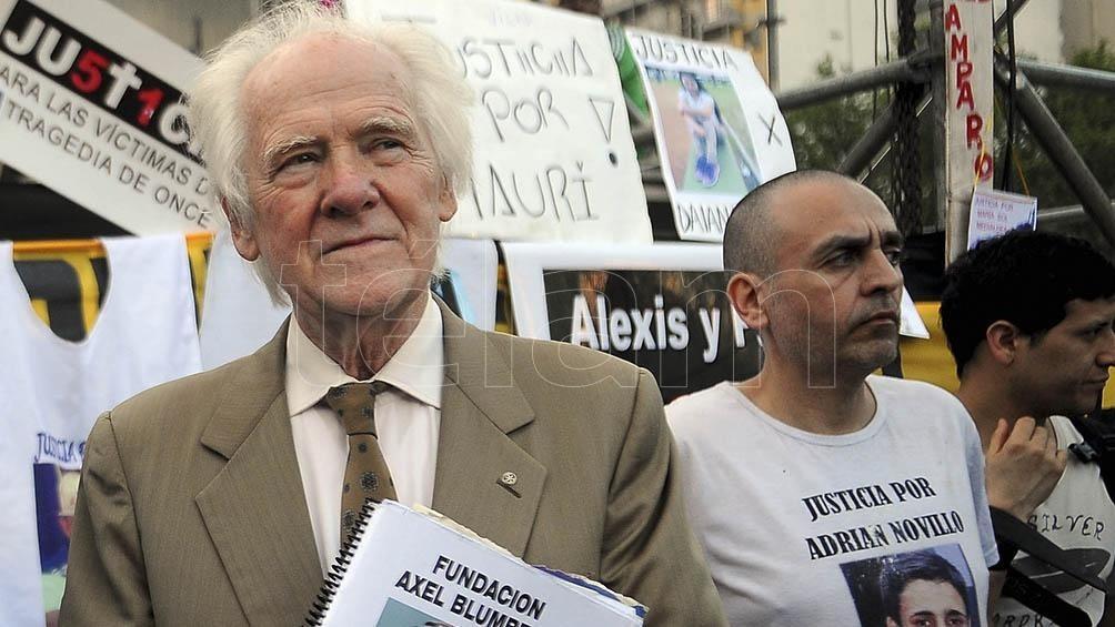 A 17 AÑOS DEL CRIMEN DE SU HIJO |  Blumberg pidió que no liberen a uno de los asesinos de Axel