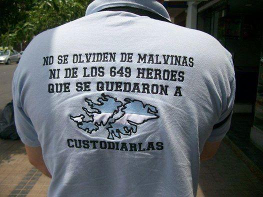 Son Argentinas, esa es la ley primera!
