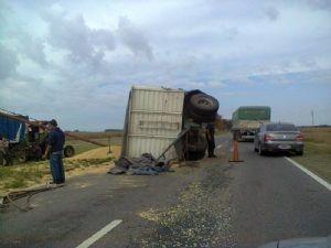 El siniestro ocurrió, en el tramo entre Junín y Baigorrita