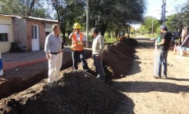 """""""Red de Desagües Cloacales en Barrio Juan El Bueno"""""""