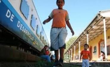 Llega el tren de sanitario y de desarrollo social a Los Toldos
