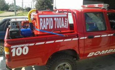 Bomberos Voluntarios de Gral. Viamonte  creciendo con mas equipamiento al servicio de la comunidad